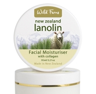 LANOLIN FACIAL MOISTURISER WITH COLLAGEN  (Kem dưỡng ẩm Lanolin với Collagen)